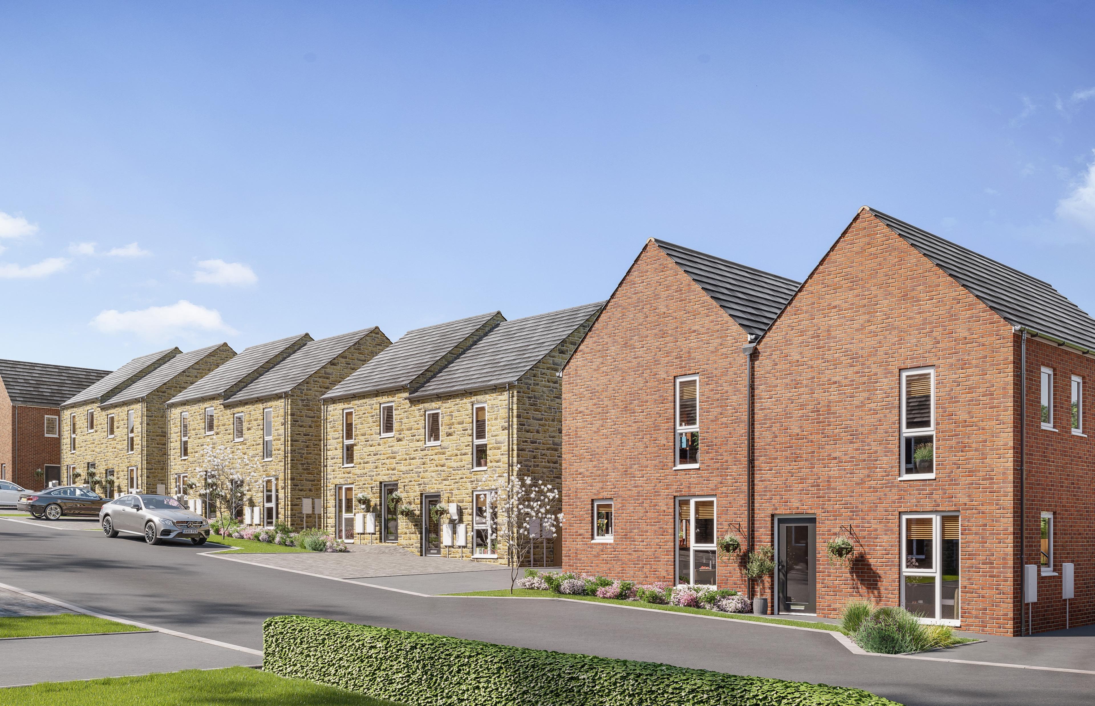 Millstone View - StreetScene-Chellow Grange-Bradford-Plots16-29