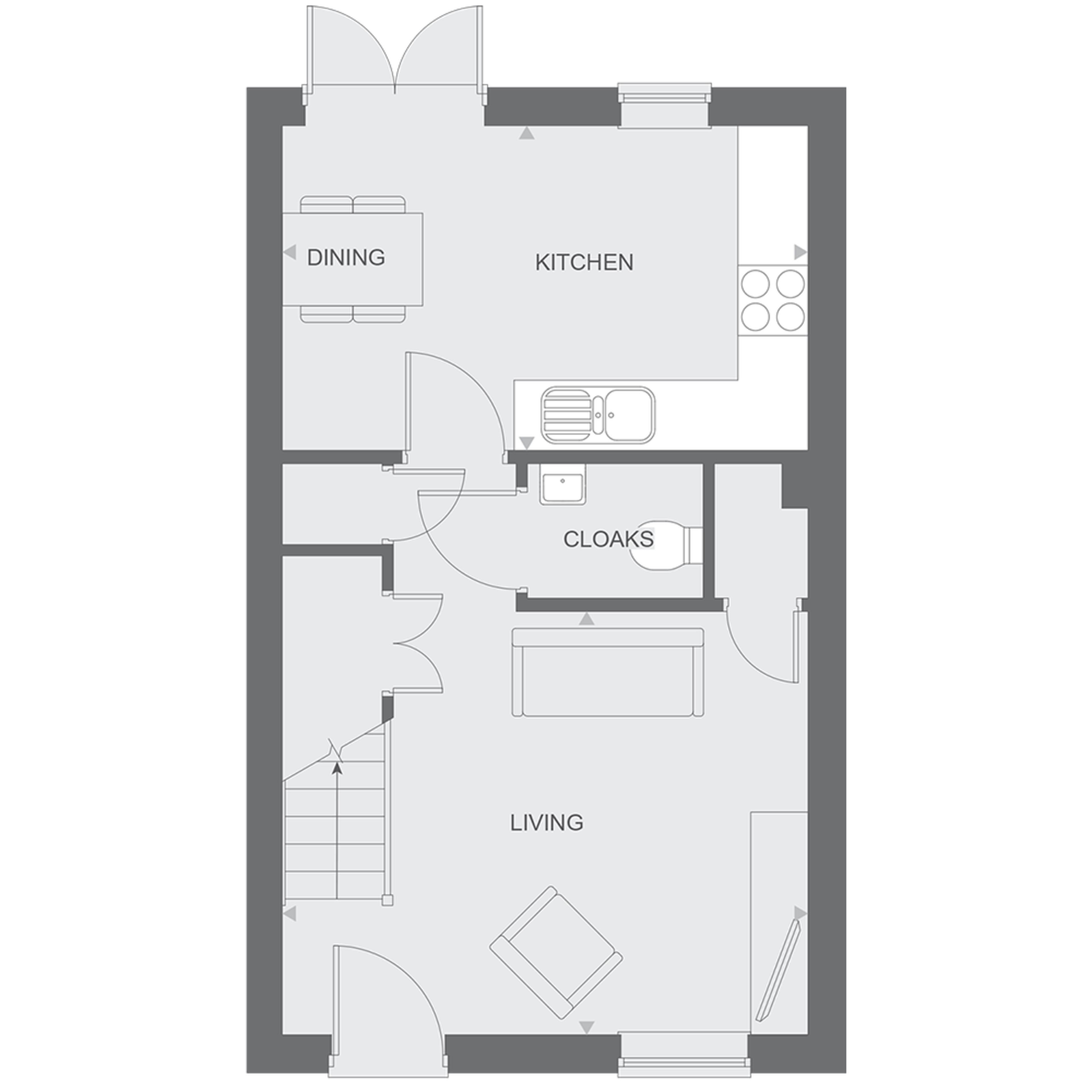 Floor plan - Ashlar - HT3 - GF