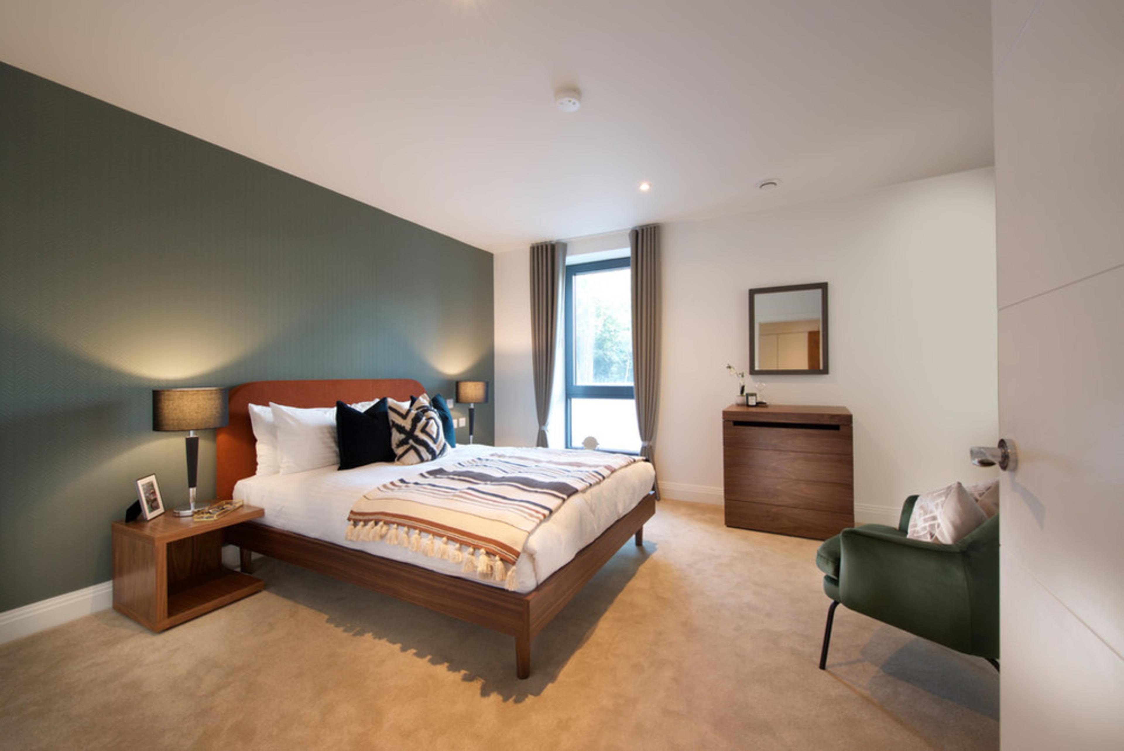 Union Park - Master bedroom