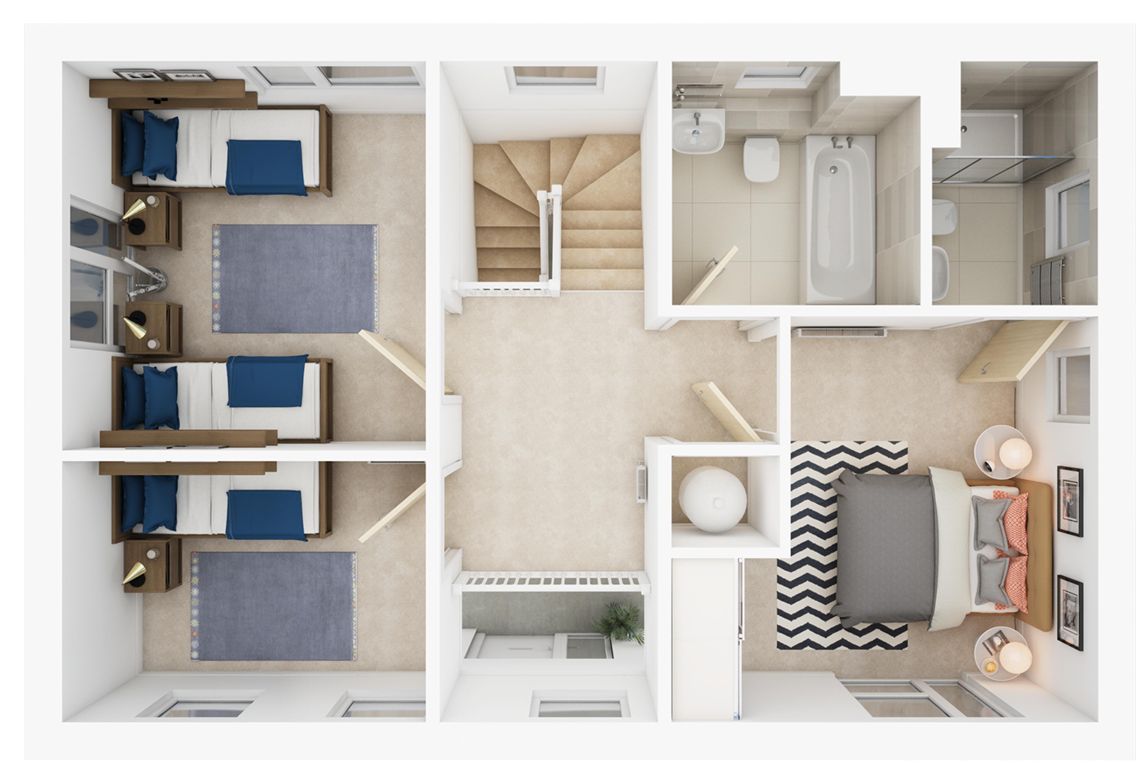 Watling Grange > Bretton > First floor