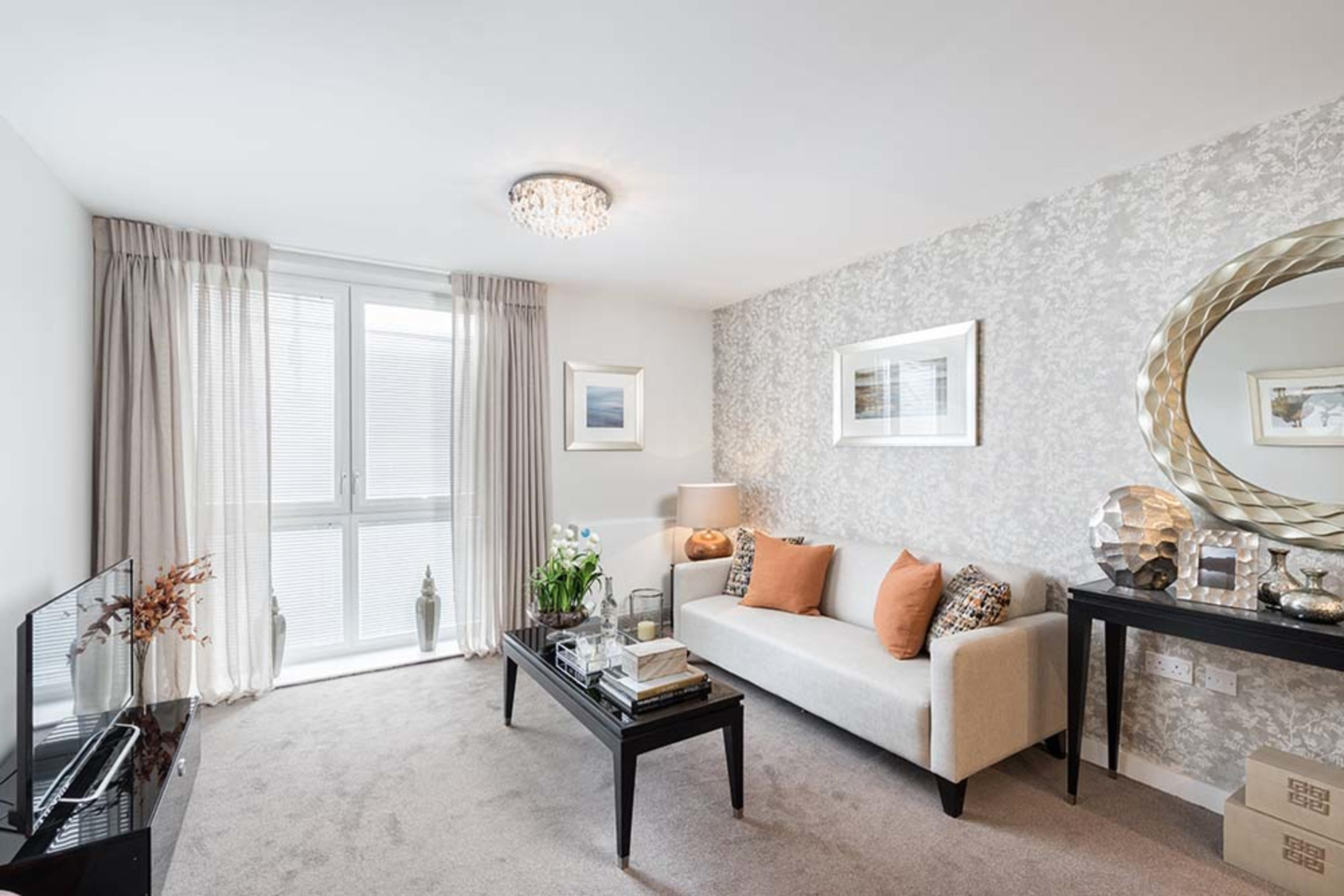 Huntley Place - Living room