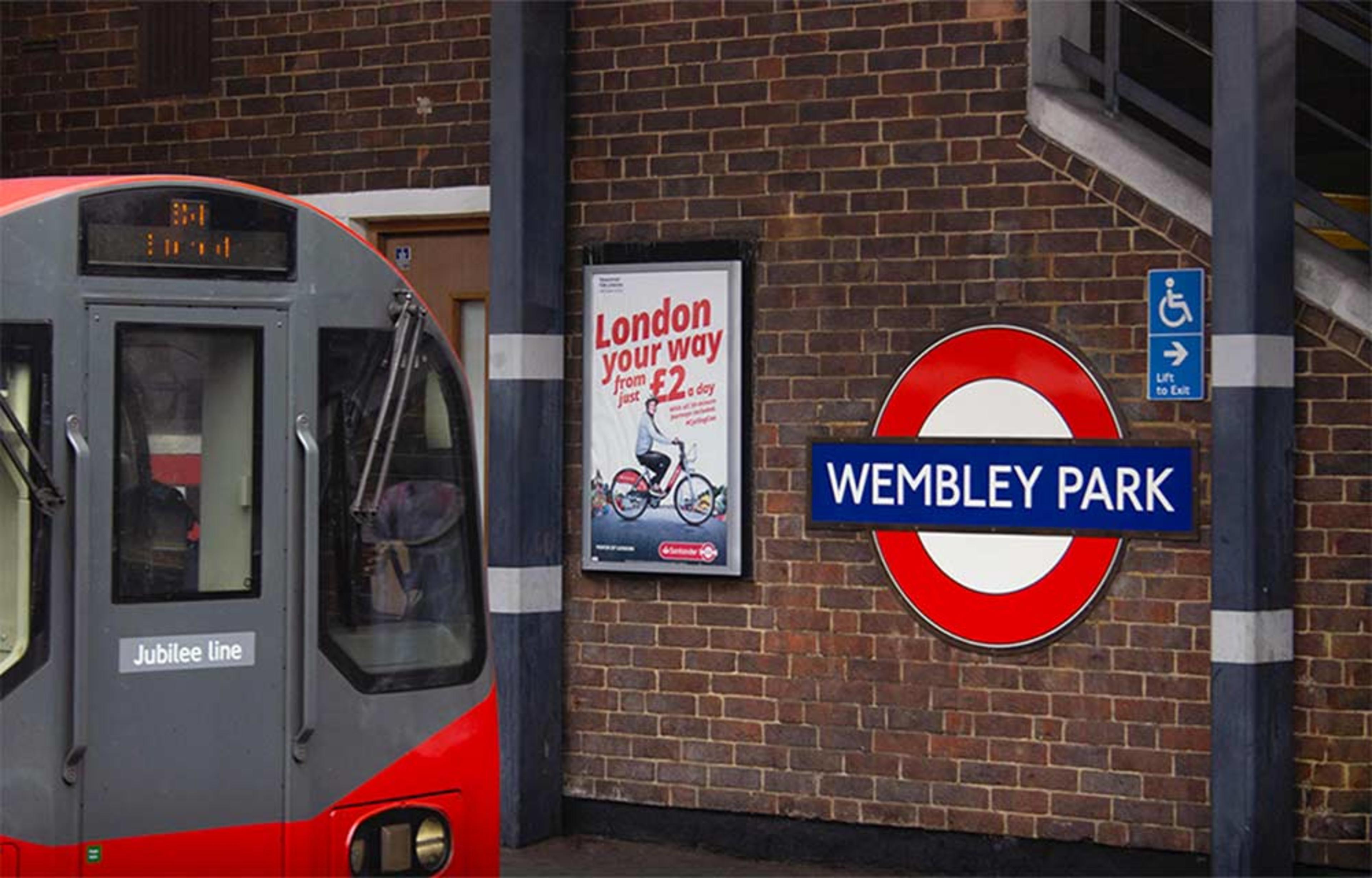 1, 2 and 3 bedroom apartments at Anthology Wembley Parade - train at Wembley Park tube station