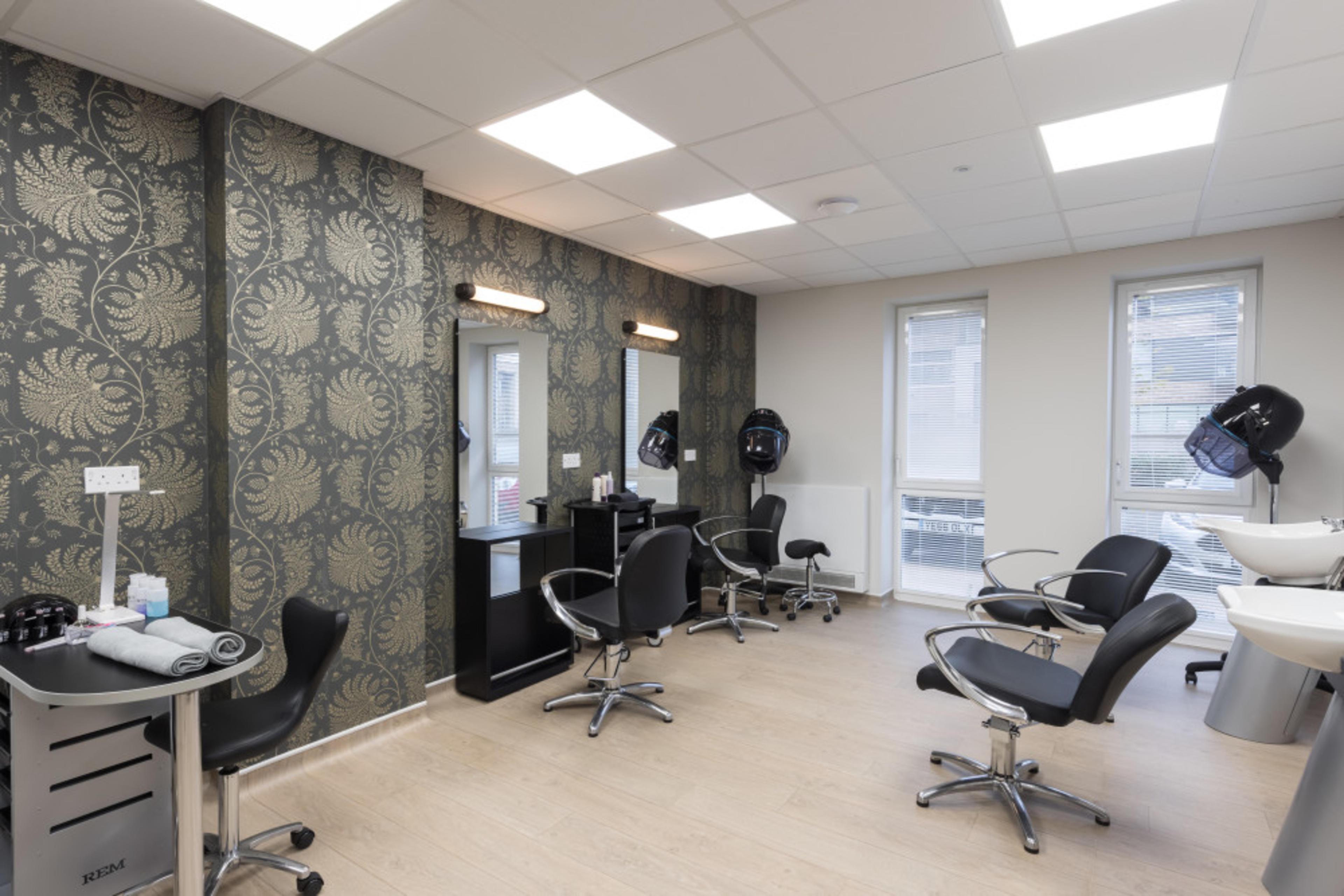 Huntley Place - hair salon
