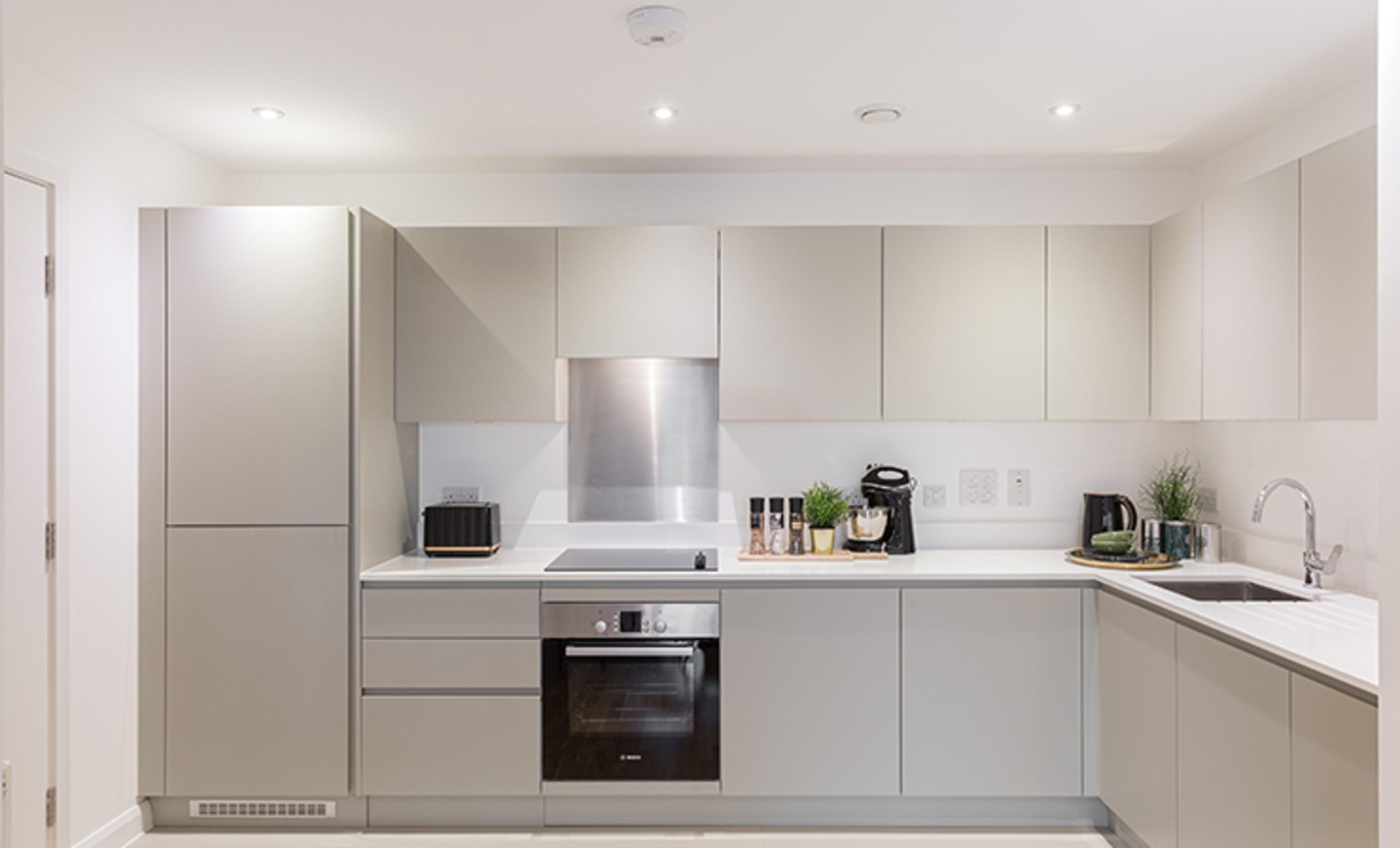 Franklin Court - new two bedroom apartment - kitchen