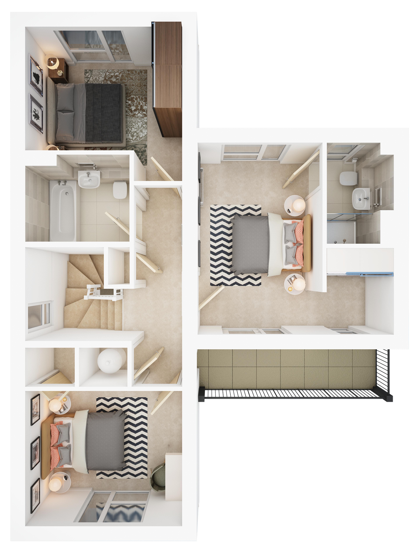 Watling Grange > Elstow > First floor