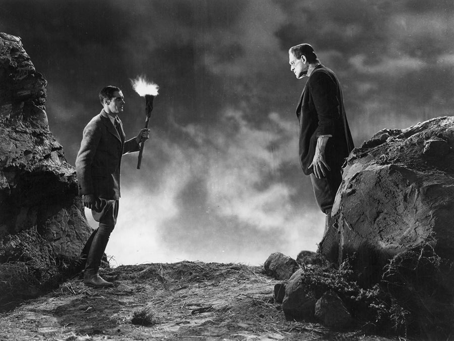 Still from Frankenstein.