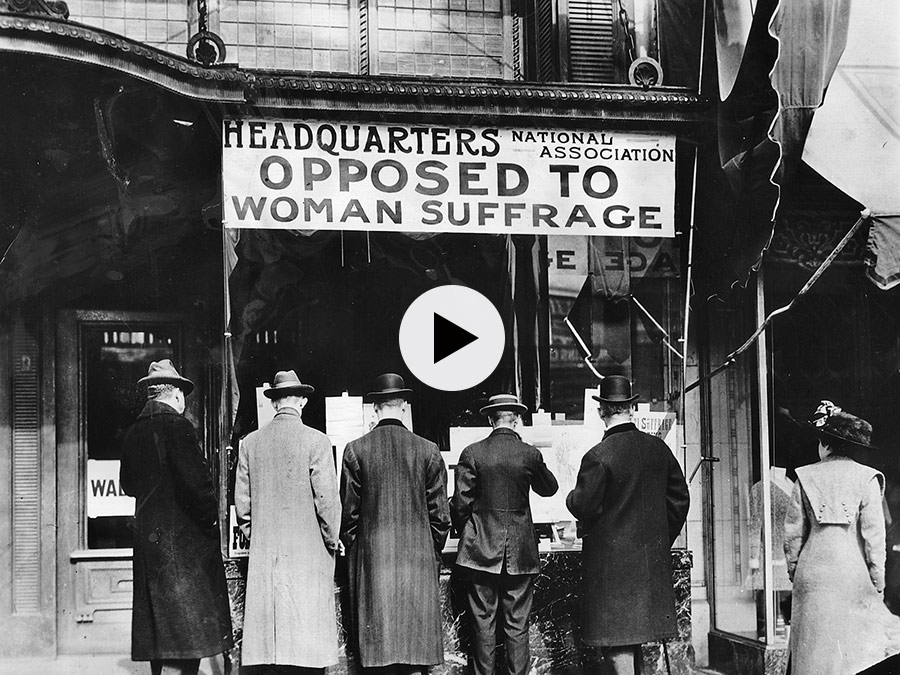 Opposition women's suffrage