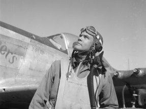 Benjamin O. Davis, Jr., 1945.