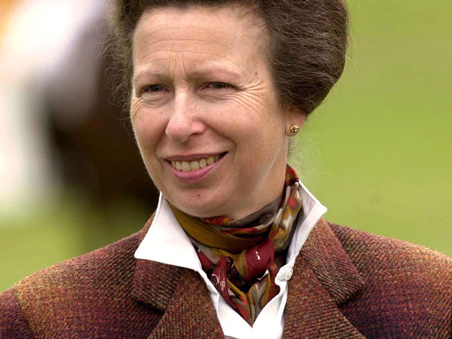 Anne, the Princess Royal, 2001. David Hartley, REX, Shutterstock.com