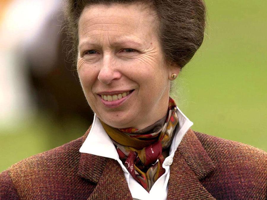 Anne, the Princess Royal, 2001. David Hartley, REX, Shutterstock.com
