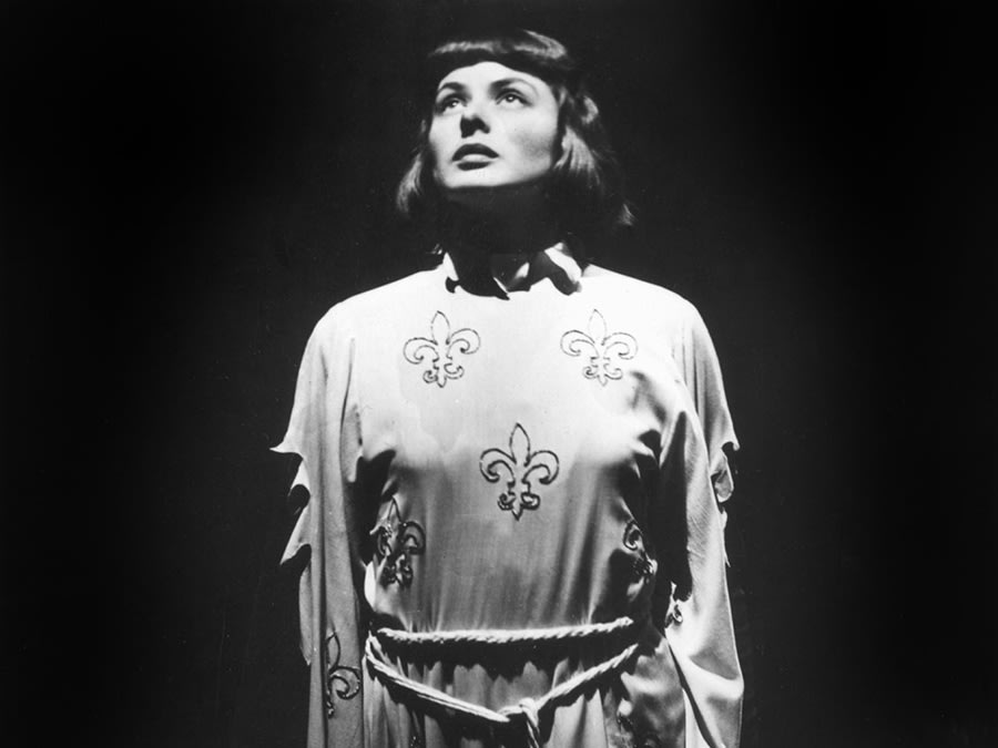 Ingrid Bergman as Joan of Arc (1948)