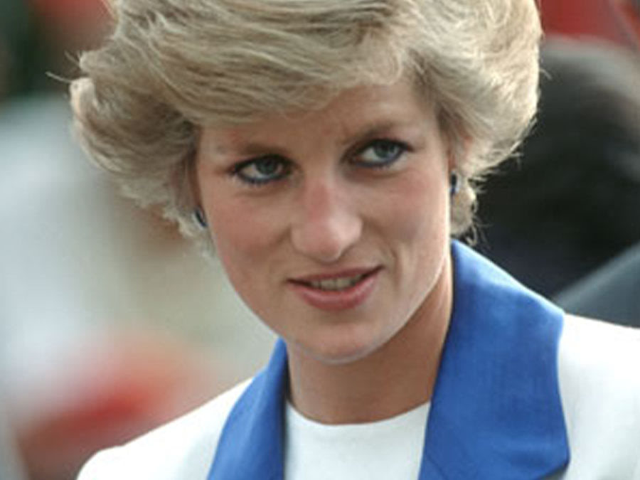 Diana, princess of Wales, 1989.