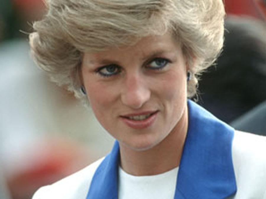 Diana, princess of Wales, 1989.