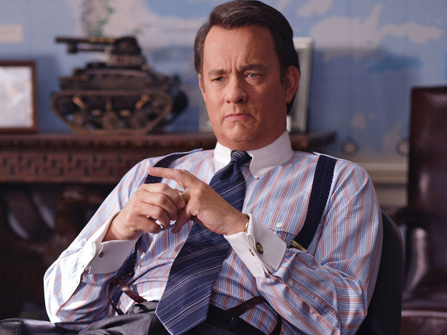 Tom Hanks in Charlie Wilson's War (2007). Francois Duhamel鈥擯articipant Media, LLC.