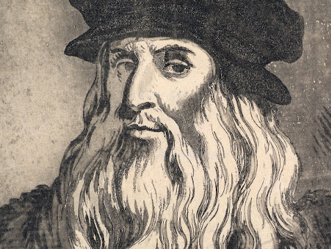 headshot of Leonardo da Vinci