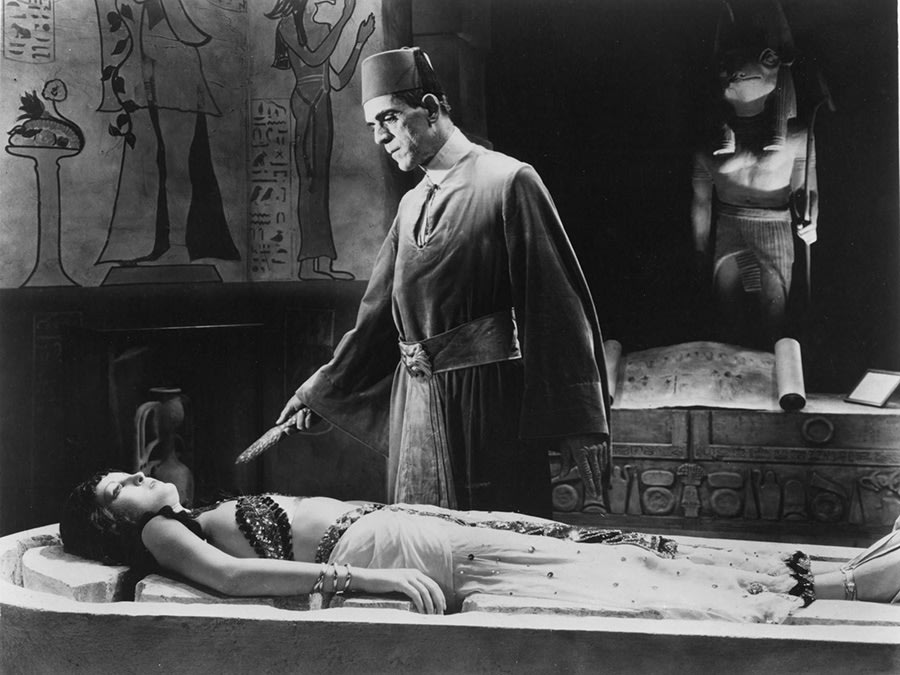Still from The Mummy.