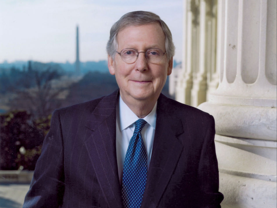 Mitch McConnell, c. 2009.