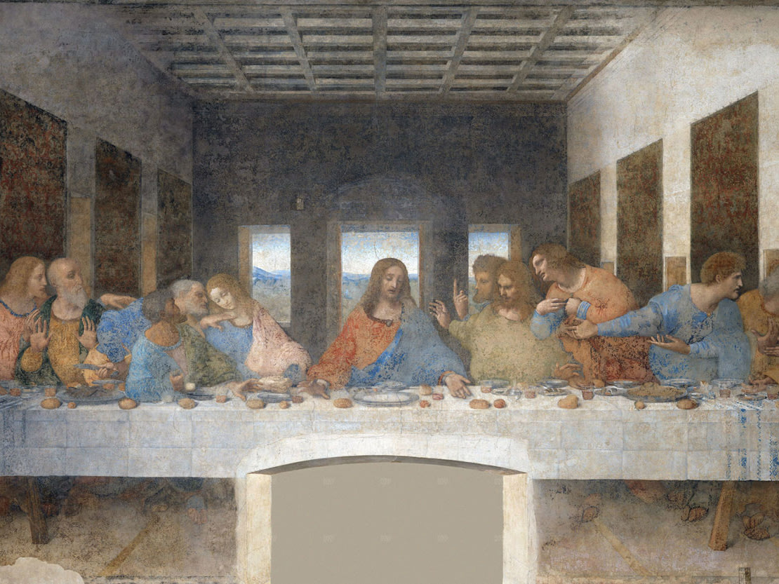 Last Supper, fresco by Leonardo da Vinci