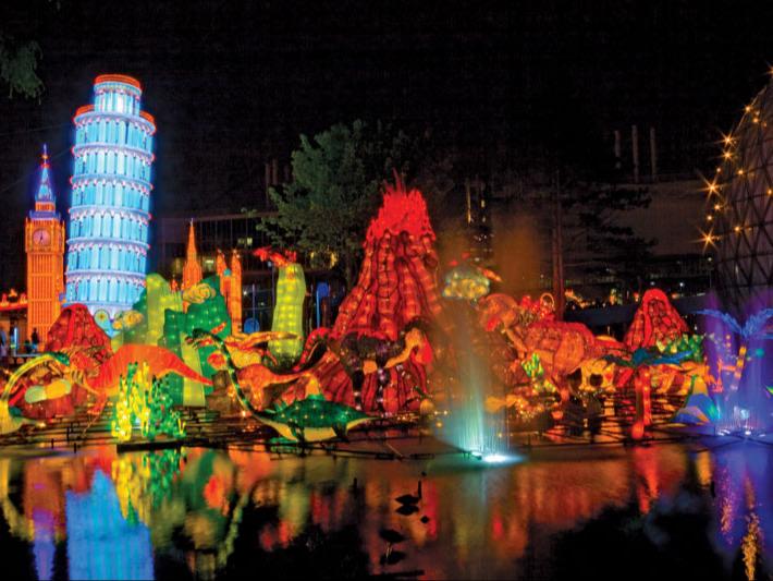 Chinese Lantern Festival, Toronto, 2008.
