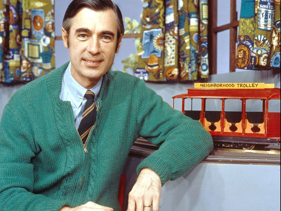 Mister Rogers, the television persona of Fred Rogers. PictureLux, The Hollywood Archive, Alamy.