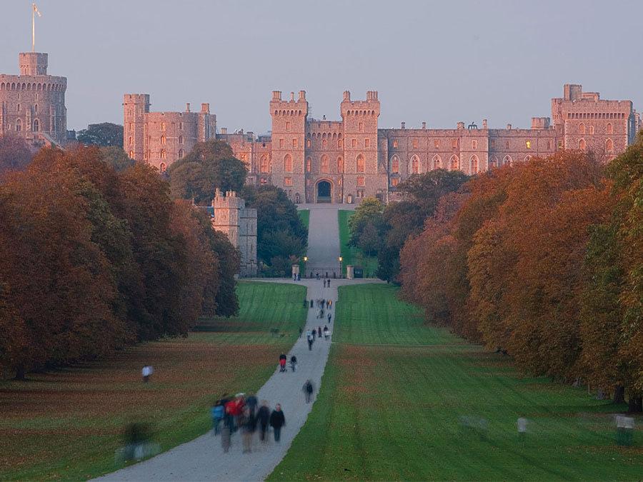 Windsor Castle, Windsor, Berkshire, England.