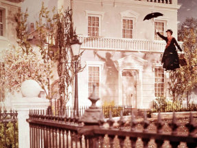 Julie Andrews in Mary Poppins (1964), directed by Robert Stevenson.