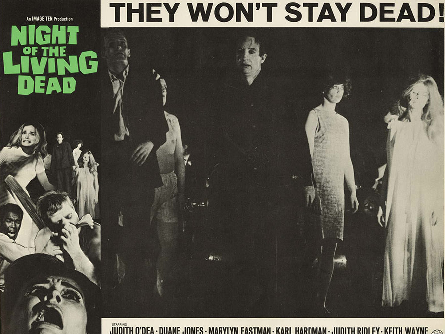 Poster for Night of the Living Dead.