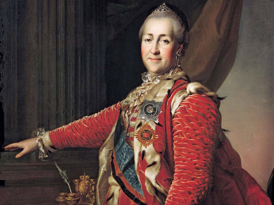 Image of Russian empress Catherine the Great