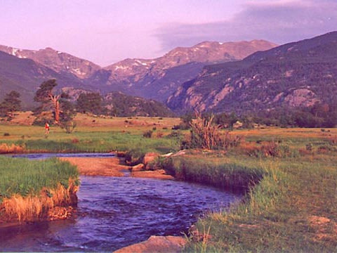 Rocky Mountain National Park, north-central Colorado.