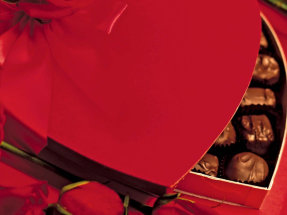 box of Valentine's Day chocolates