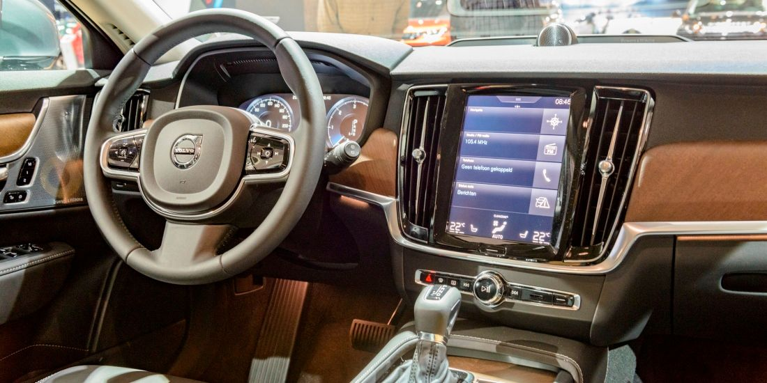 Volvo V90 Font mit Touch-Screen