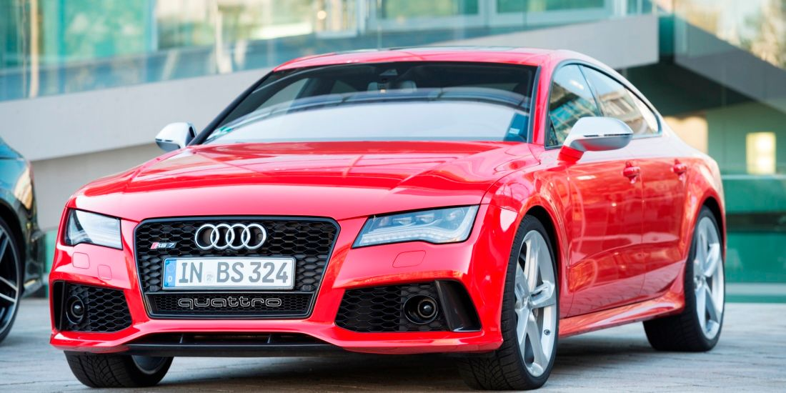 Audi RS7 Flitzer ganz in Rot