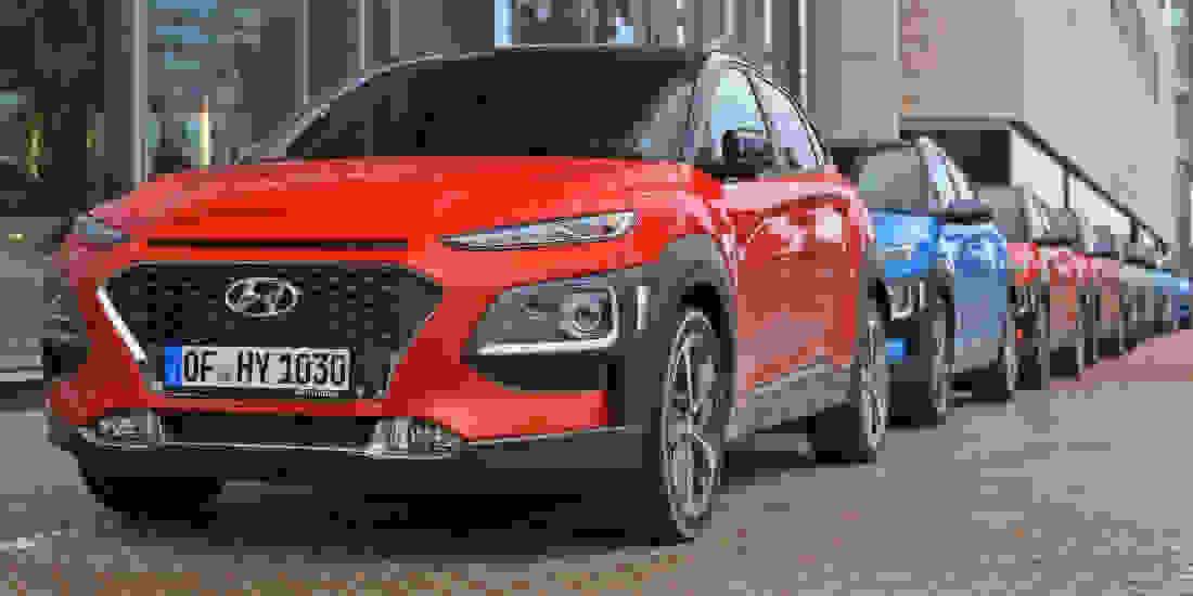 Hyundai KONA Gebrauchtwagen online kaufen Slider 1