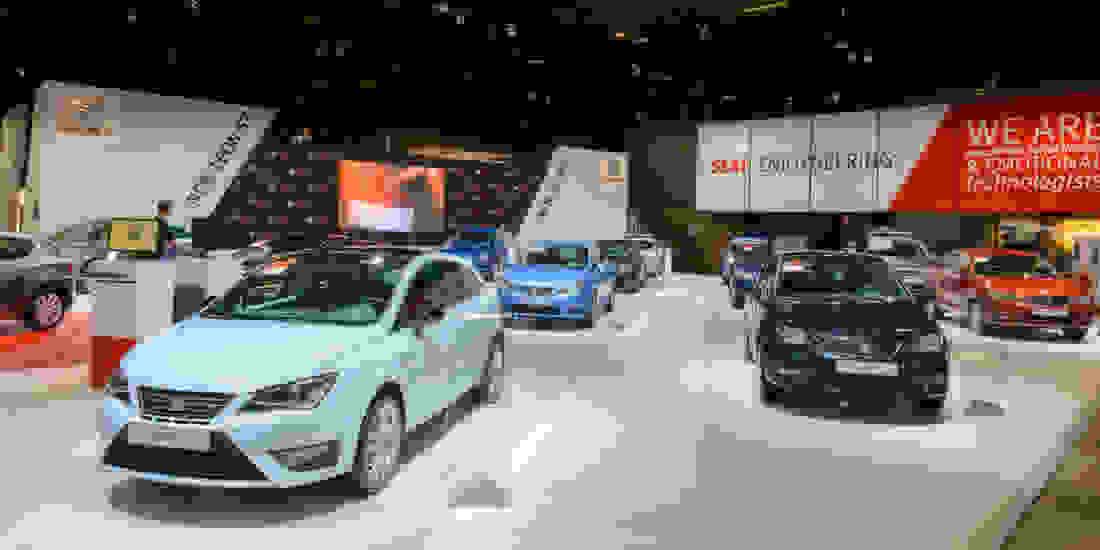 Seat Ibiza Gebrauchtwagen online kaufen Slide 1