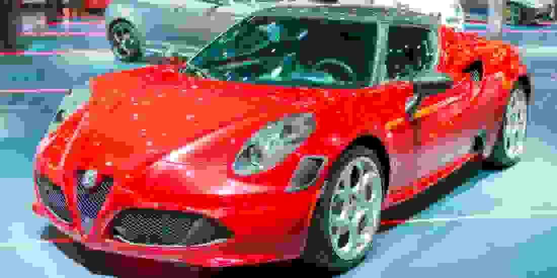 Alfa Romeo Übersicht 4C