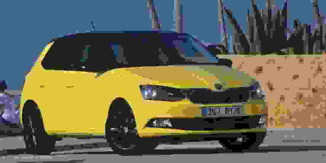 Skoda Fabia Gebrauchtwagen online kaufen Slider 1
