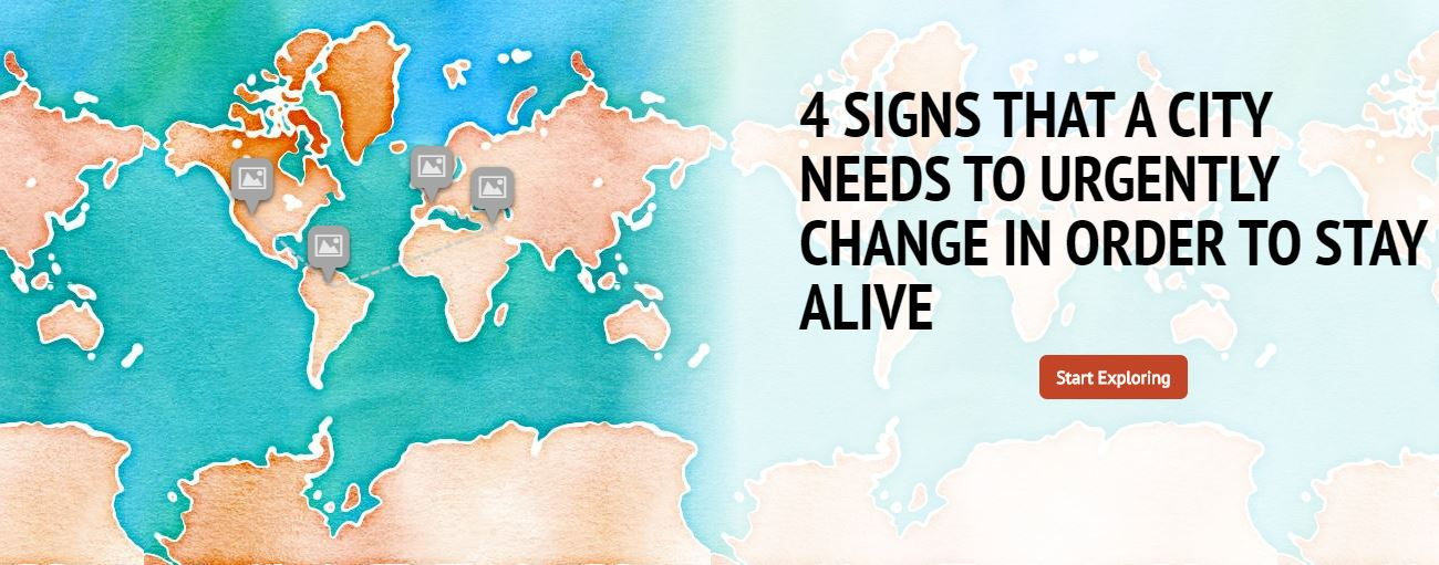 Infographic signs alive