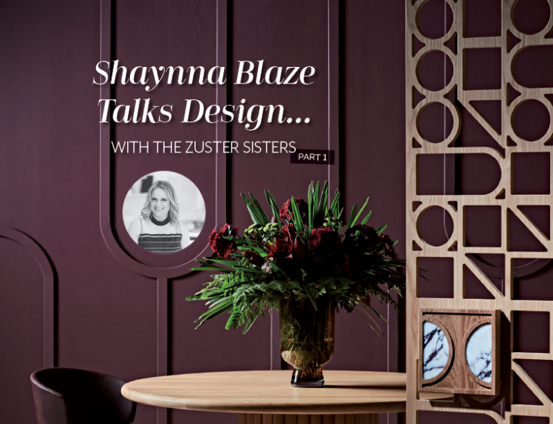 Shaynna Blaze Talks Design part 1