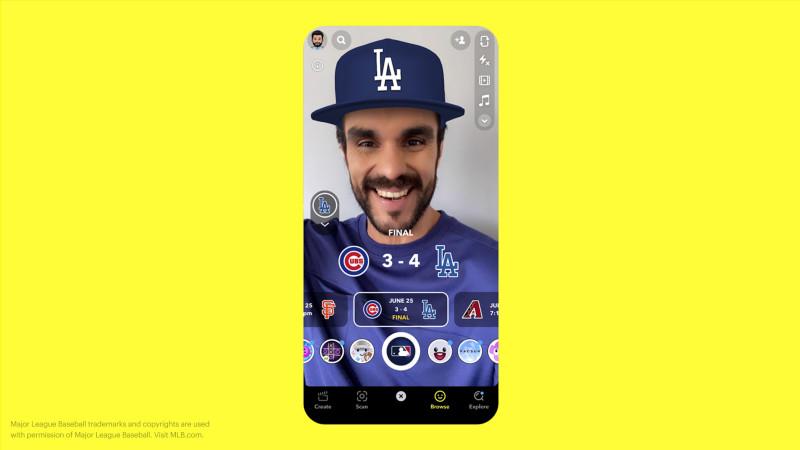 Snapchat MLB Partnership