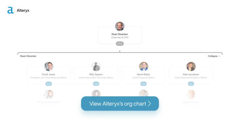 Alteryx org chart desktop teaser