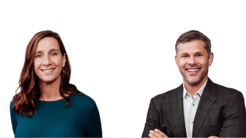 Jason Warnick and Gretchen Howard