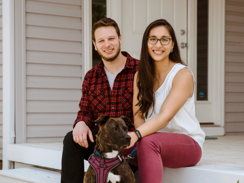 Mike Bodulow and Megan Villanueva