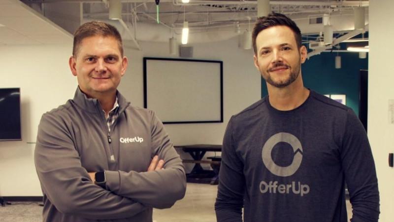 OfferUp CEOs Todd Dunlap Nick Huzar