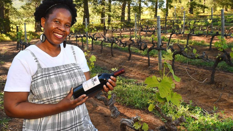 Ntsiki Biyela of Aslina Wines Courtesy of Aslina Wines