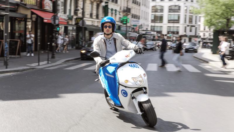 Cityscoot Moped