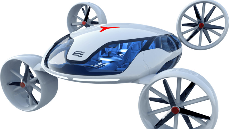 bartini eVTOL aircraft (Electric Vertical Takeoff and Landing Aircraft)