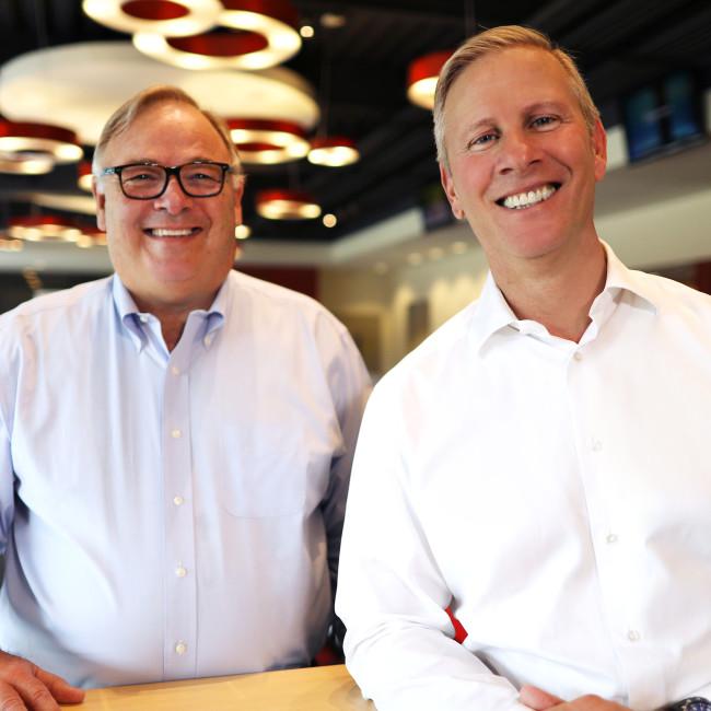 Greg Creed and David Gibbs