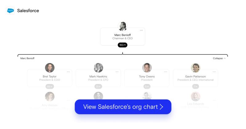 salesforce org chart
