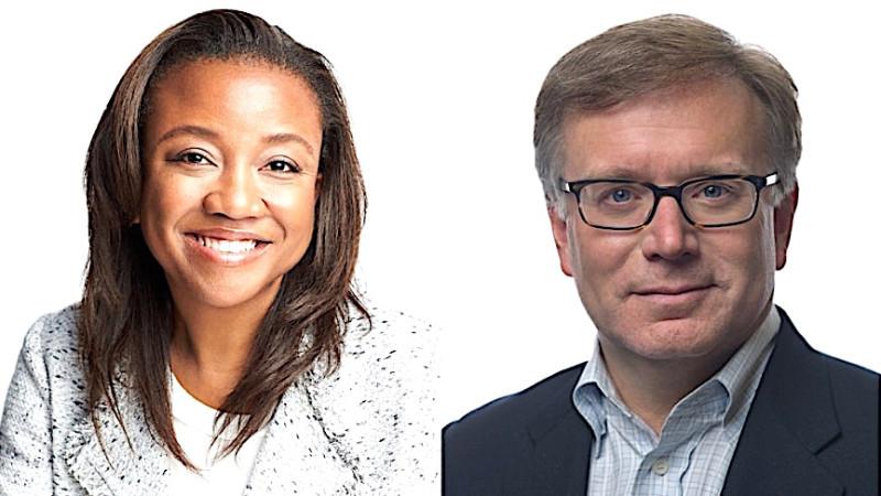 Condé Nast Executives Deirdre Findlay and Mike Goss