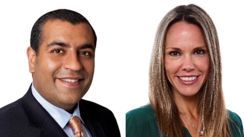 Neeraj Khemlani and Wendy McMahon